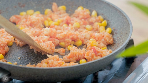 茄酱蛋包饭的做法图解7