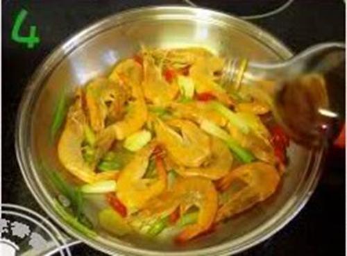 干锅香辣虾的做法图解4