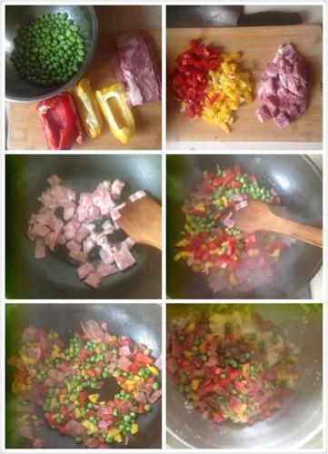 超豪华版土豆泥培根芝士焗土豆泥的做法图解2