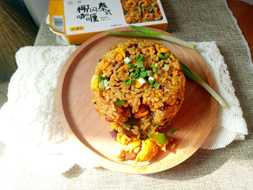 咖喱炒饭的做法图解9