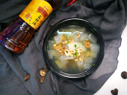 冬瓜海鲜汤的做法图解5