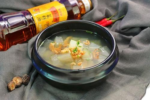 冬瓜海鲜汤