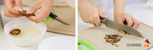 香菇虾皮粉 (12月龄+)的做法图解3