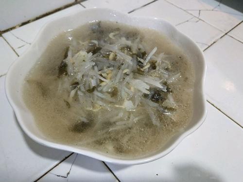 虾皮萝卜汤的做法图解8
