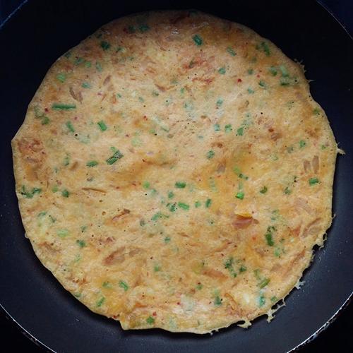 韩式泡菜饼的做法图解5