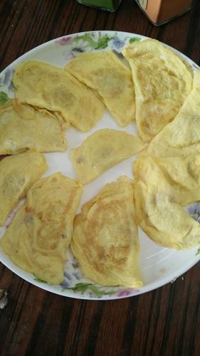 蔬果蛋饺的做法图解8