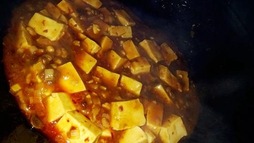 巴蜀麻婆豆腐无盐肉末版的做法图解6