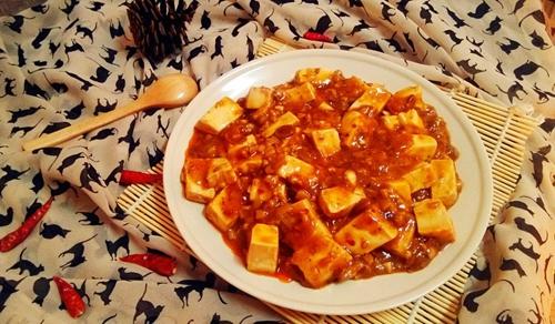巴蜀麻婆豆腐无盐肉末版的做法图解7