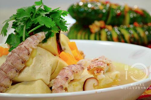 皮皮虾炖豆腐