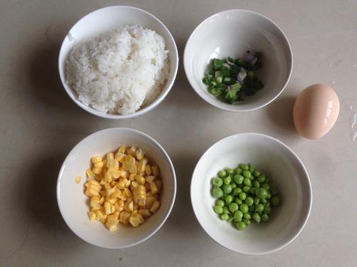 海鲜炒饭的做法图解2