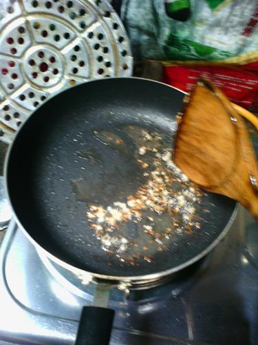 豆角烧茄子的做法图解7