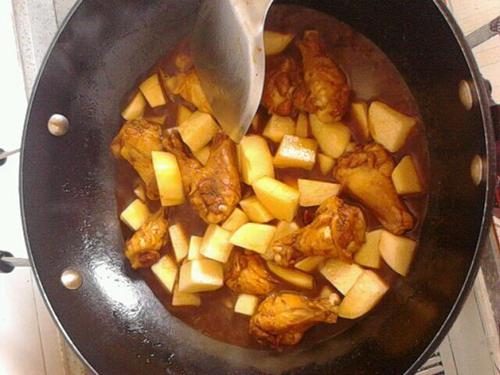 土豆鸡翅根的做法图解4