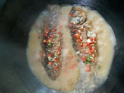 红烧鱼的做法图解7