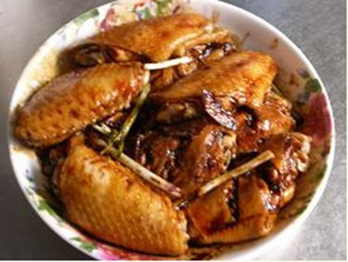 少油烟酱汁鸡趐的做法图解6