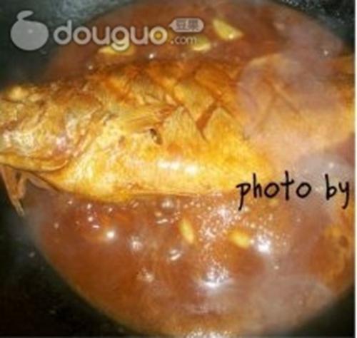 酸甜黄花鱼的做法图解9