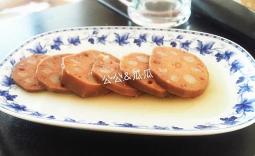 红糖糯米藕的做法图解6