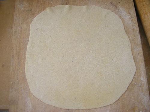 蒸粗粮单饼的做法图解2