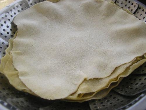 蒸粗粮单饼的做法图解6