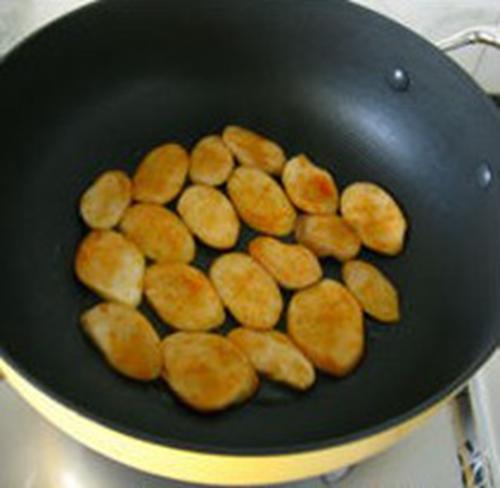 干煸杏鲍菇的做法图解4