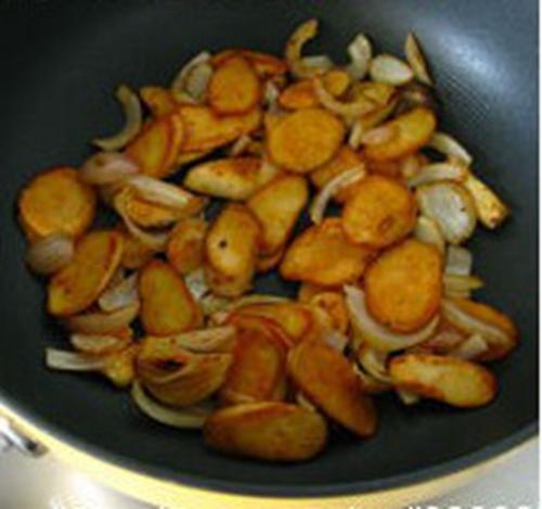 干煸杏鲍菇的做法图解6