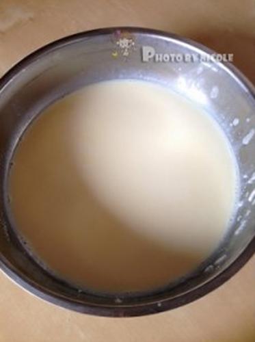 石磨豆腐的做法图解3