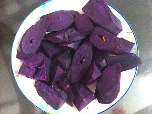 香甜紫薯的家常做法