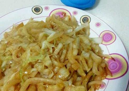 鱼香白菜丝