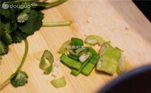 蒜蓉黑白菜的做法图解3