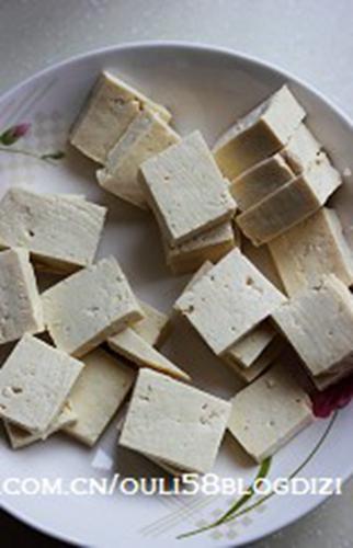 豆腐素咖喱的做法图解1