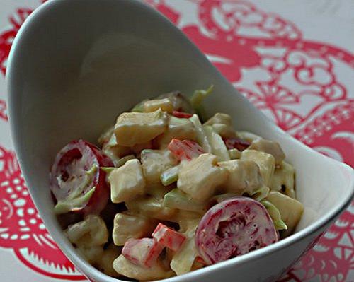 素菜沙拉的家常做法