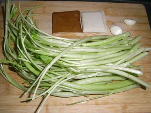 空心菜炒豆干的家常做法