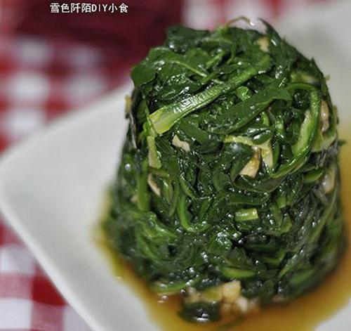 凉拌野菜的家常做法