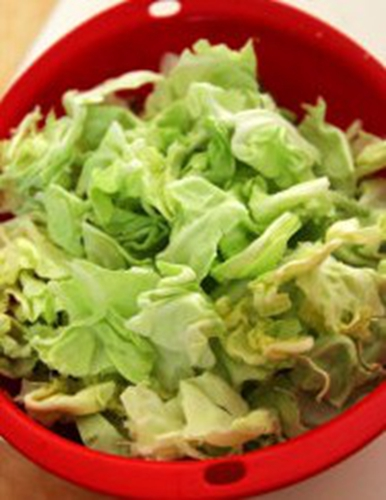 蚝油手撕包菜的家常做法