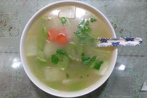 双瓜清汤的家常做法