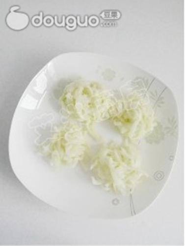 香辣拌白菜帮的做法图解3