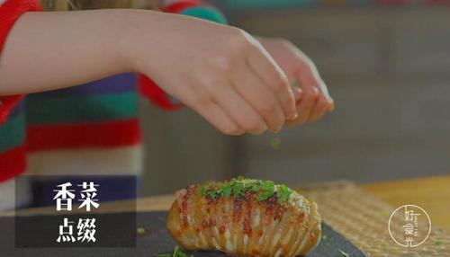 风琴马铃薯的做法图解8