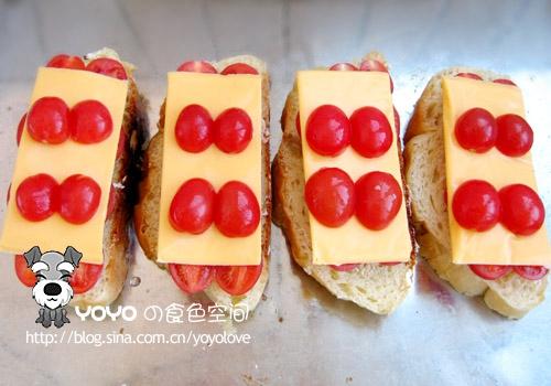 烤面包片的做法图解4
