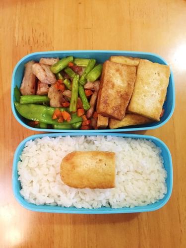 豆腐便当的做法图解7