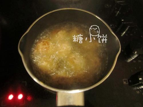 鱼香藕丸的做法图解4