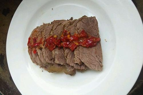 卤牛腱子肉