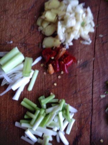 肉末茄子的做法图解2
