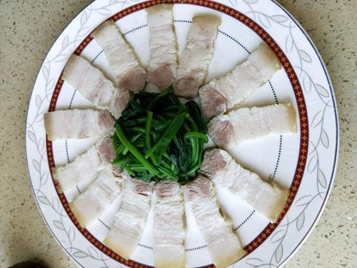 豆豉蒜泥白肉的做法图解6