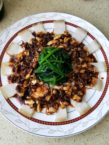 豆豉蒜泥白肉的做法图解8