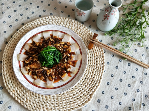 豆豉蒜泥白肉的做法图解11