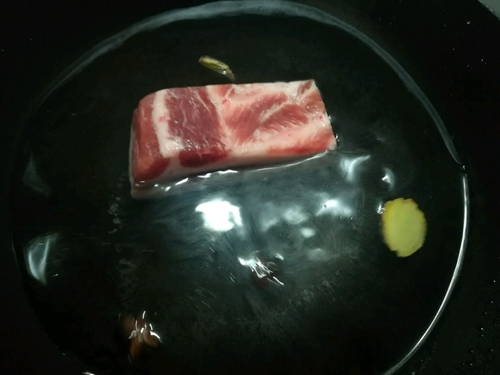 酸菜白肉的做法图解4