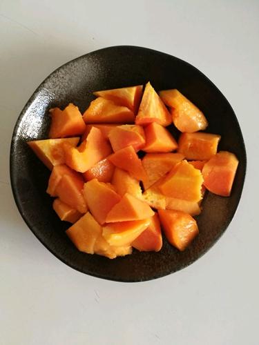 木瓜烧肉的做法图解2