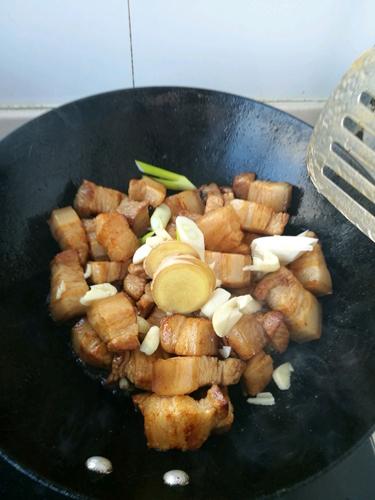 木瓜烧肉的做法图解6