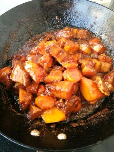 木瓜烧肉的做法图解11