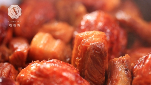 虎皮蛋红烧肉的做法图解7