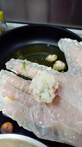 虾米萝卜丸子的做法图解6